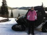 Kellyand winter RZR lakeoverlook
