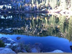 Thompson Lake reflection